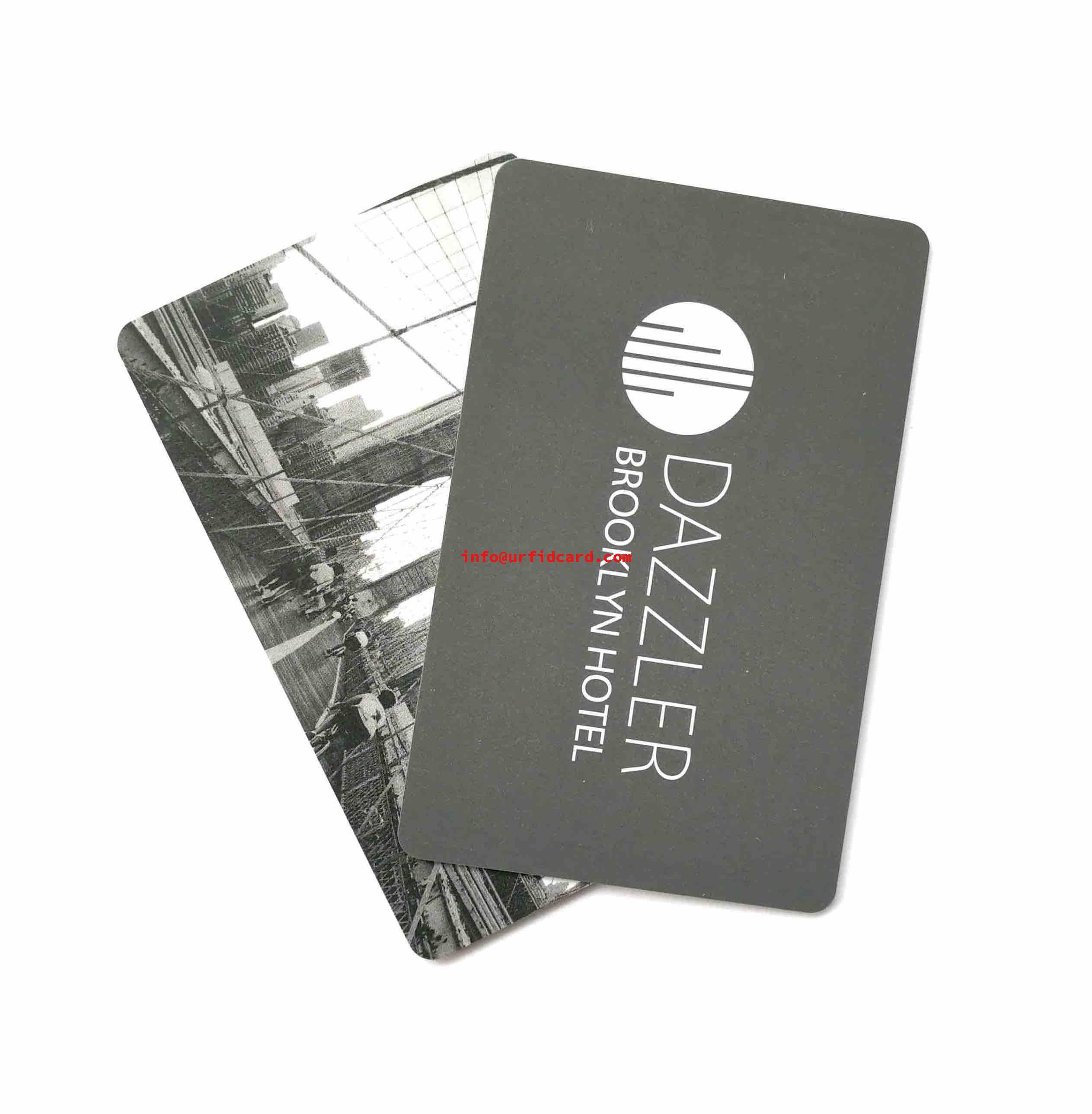 High Quality Plastic Room Key Cards
