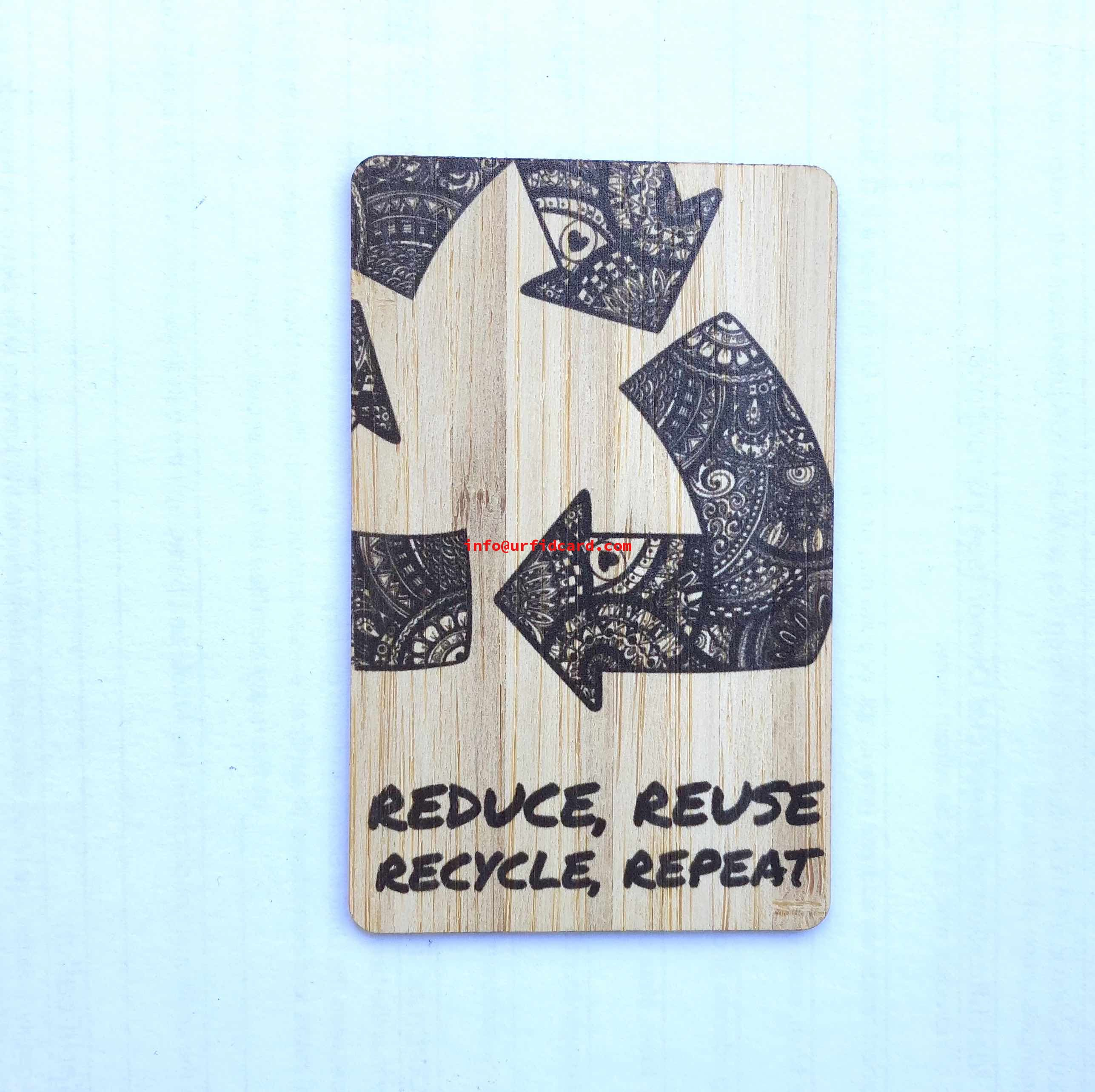 Reuse, Recycled, Repeat and Reduce Eco Hotel Key Cards