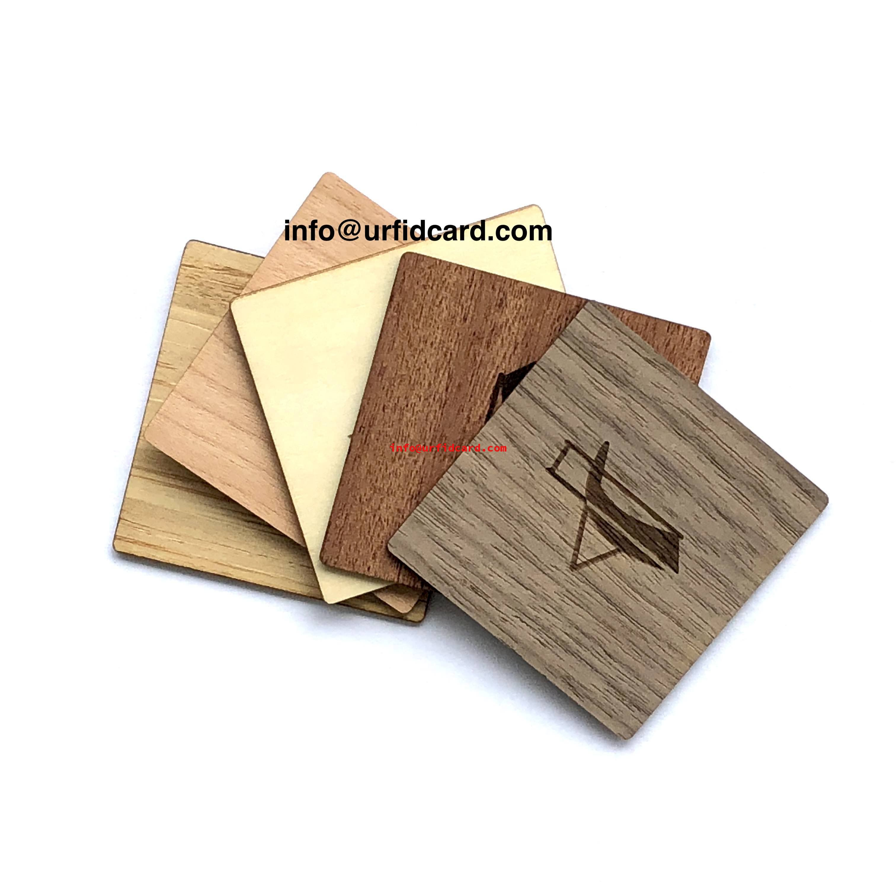 Custom Shapes Irregular Wood Card