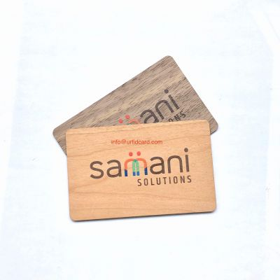 Eco Friendly Wooden Onity Lock Chip Cards