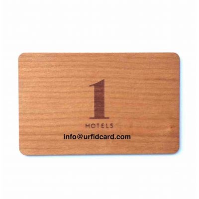 Natural and Ecological Wooden RFID Cards